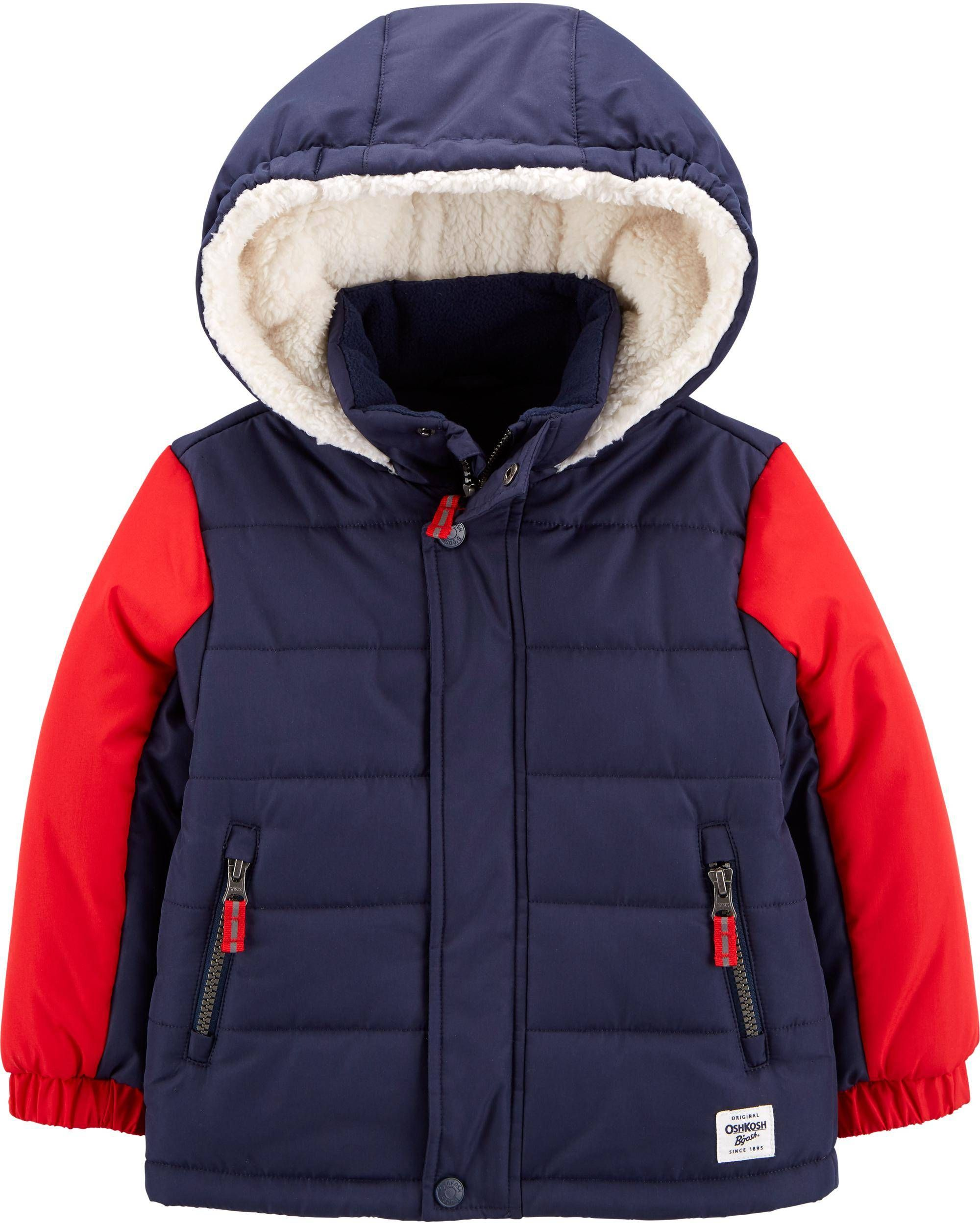Colorblock Puffer Jacket Boy Outerwear Jackets Shopping Outfit [ 2500 x 2000 Pixel ]