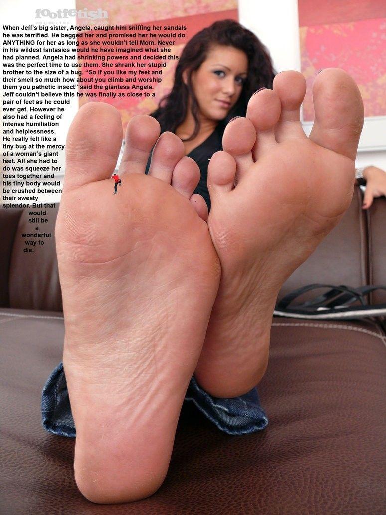 Foot fetish dreams satin
