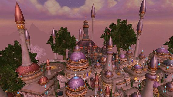 The Mage-run city of Dalaran is a beautiful city in the sky, with fountains, statues and lounges open to citizens of any faction. These earr...