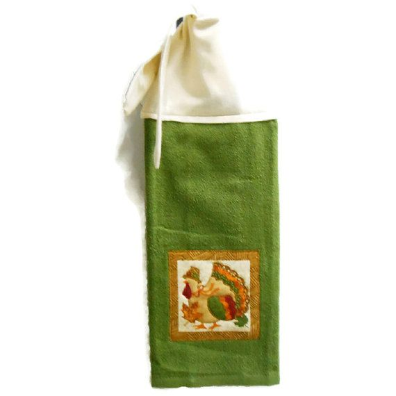 Kitchen Hand Towel Tie On Towel Towel With Ties By SuesAkornShop, $6.00