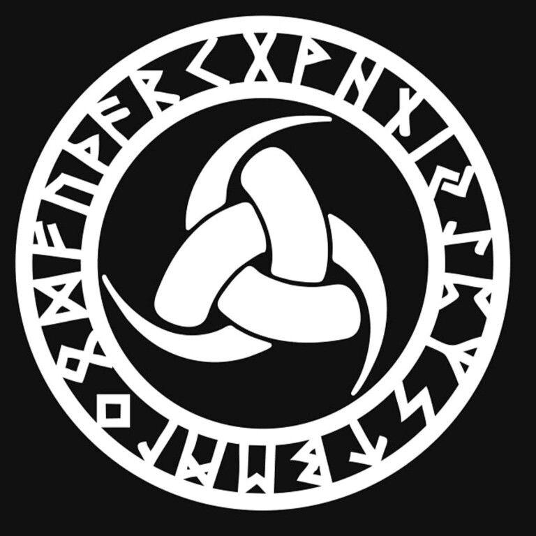 Triple Horn Of Odin Simbolos Celtas Glifos Simbolos