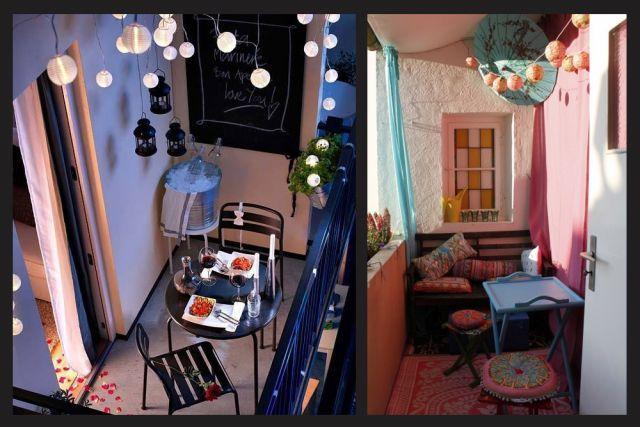 10 id es pour am nager un petit balcon apartments and spaces. Black Bedroom Furniture Sets. Home Design Ideas