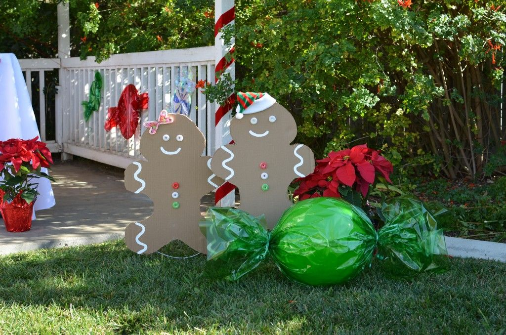 Kid-Friendly Gingerbread House Decorating Party - Candles and Favors