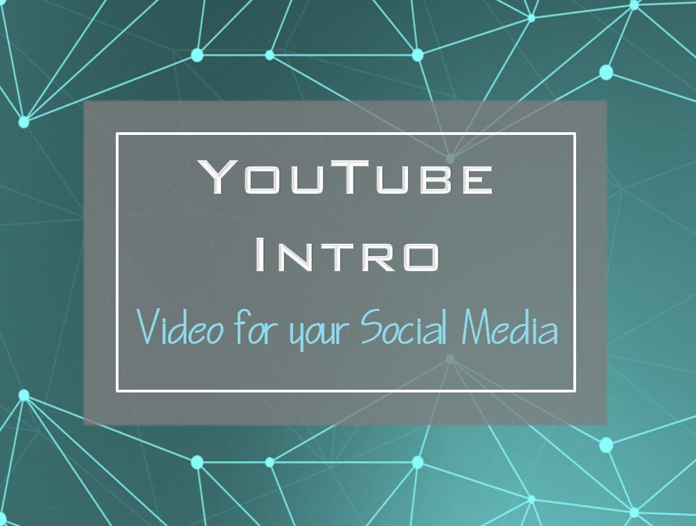 Youtube, Intro, Youtube Intro, Custom Logo, Video, Video