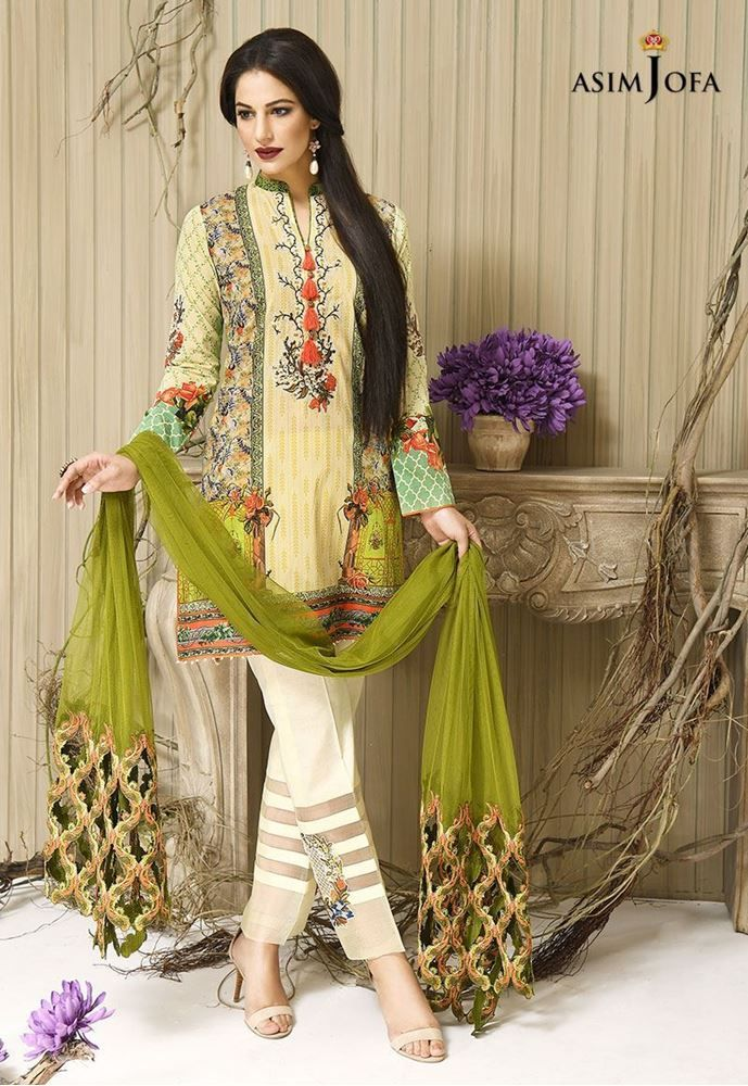 db0a3d4ad Asim Jofa Latest Fall Winter Collection For Women 2017-2018 Prices ...