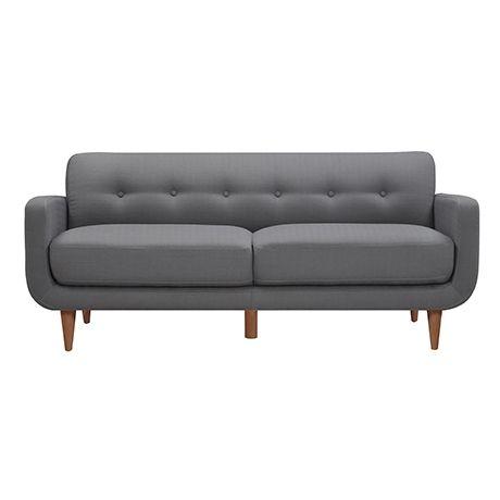 Winston 3 Seat Sofa Sofa Freedom Furniture Fabric Sofa