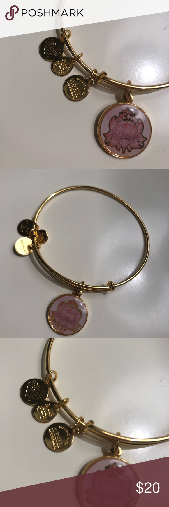 Alex And Ani Gold Lotus Flower Necklace Alex And Ani Gold Lotus