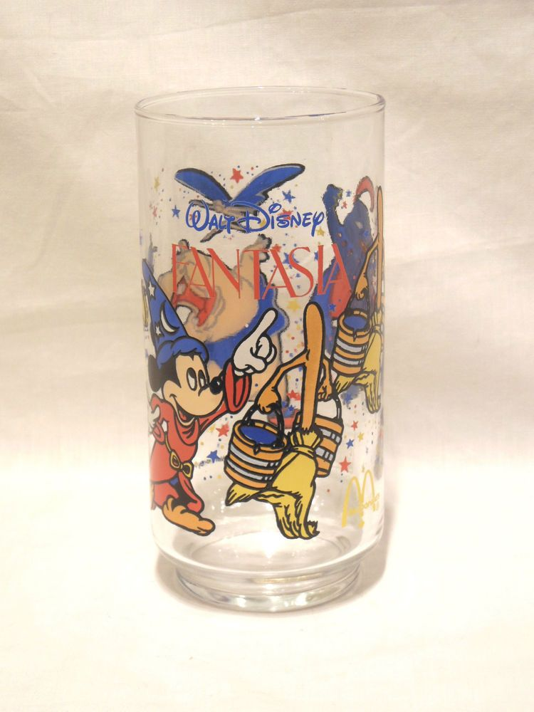 81bc9811022754 Vintage Coca-Cola McDonald's Walt Disney Peter Pan Glass | eBay Fantasia  Disney, Epcot