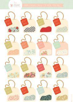 Free printable tea bag gift tags printables pinterest free printable tea bag gift tags print on label sheets negle Images