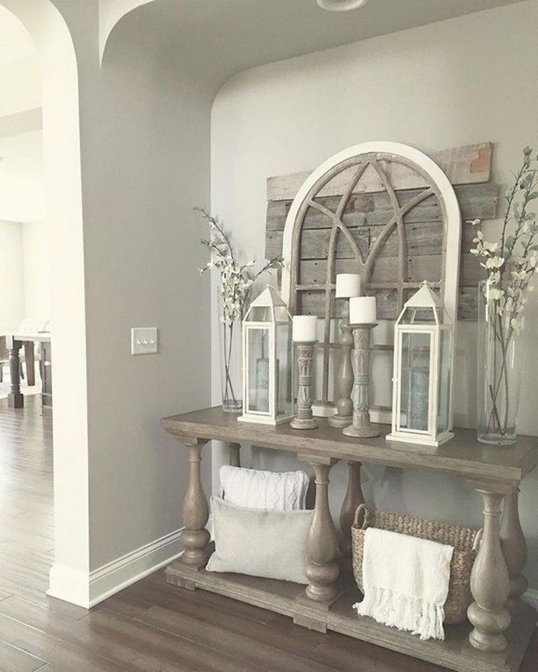 Amazing Home Decor: 95+ Amazing Rustic Entryway Decorating Ideas