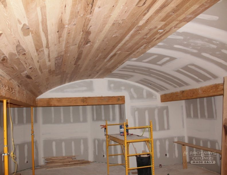 Barrel Vaulted Ceilings 1 Upstairs Bath Reno Vaulted