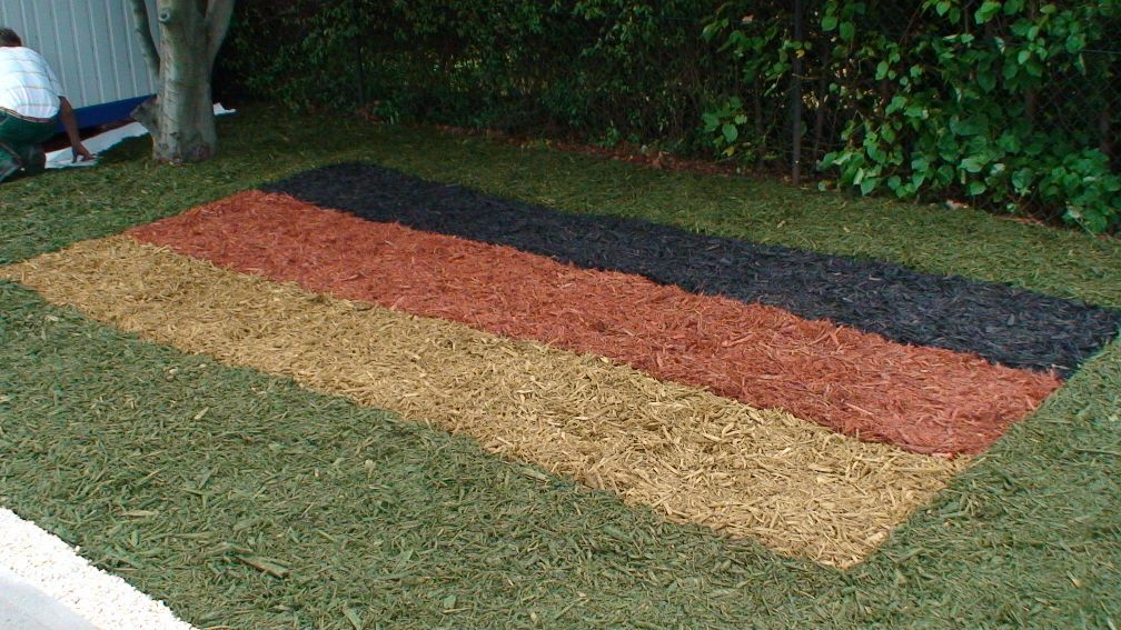 Dekor Hackschnitzel Rot 1000l 20x50l Palette Landscaping Decor