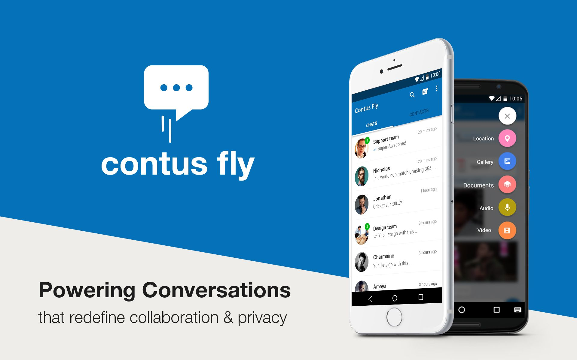 Get a Contus 'Fly'ing Start for Your Chat App Build on iOS