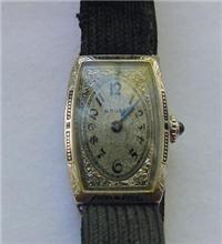 Vintage 14K Ladies Gruen Wristwatch circa 1920s
