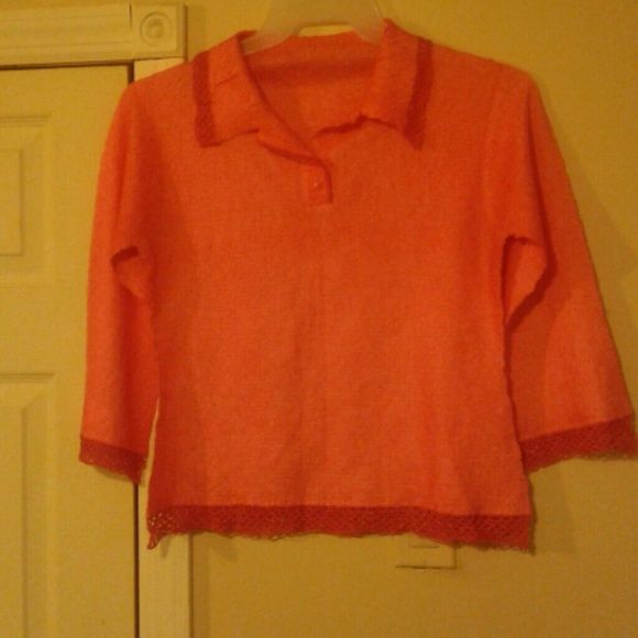 Nice orange shirt Very light. Never been worn. Other