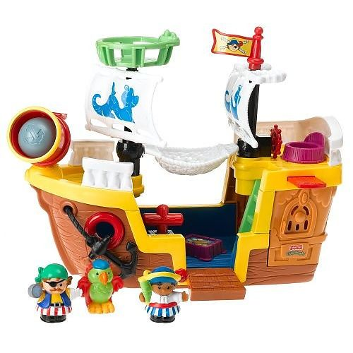 Poor People Toys : Fisher price little people pirate ship