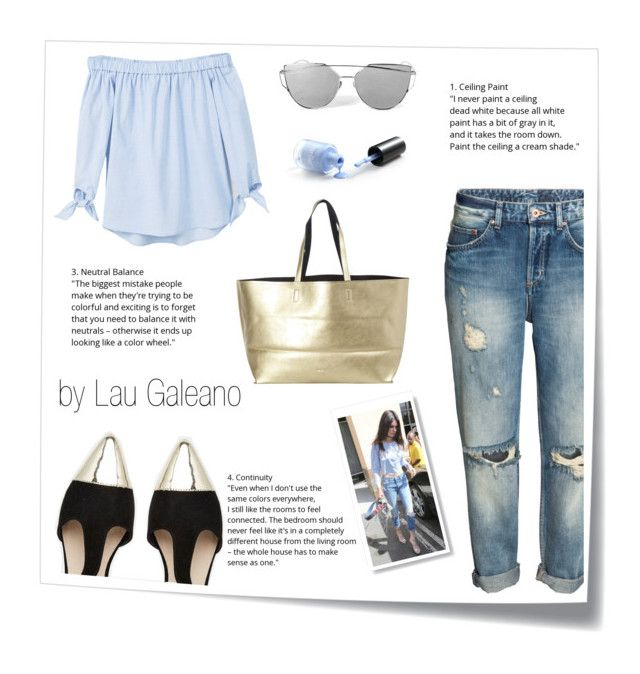 """cute pastel"" by lauvgaleano on Polyvore featuring Post-It, MANGO, ASOS and Deux Lux"