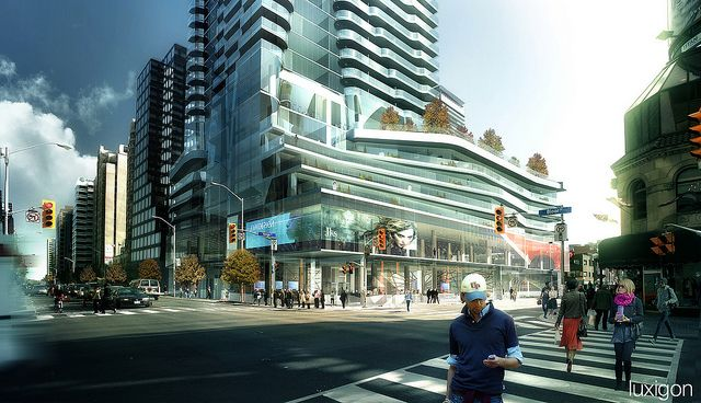 Hariri Pontarini Architects - One Bloor East, Toronto, CA by luxigon, via Flickr