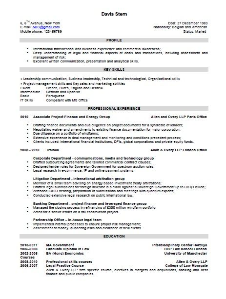 the combination resume template format and examples - Combination Resume Templates