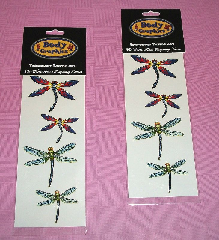 Dragonfly Temporary Tattoo Sheet #FREEBIE at O'Shenanigan's on #Bonanza :) Buy any item from my shop and get one free with your order!