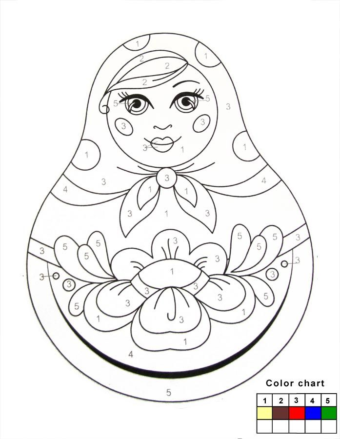 Russian Matryoshka Dolls To Paint Arts For Kids Let Your Kids