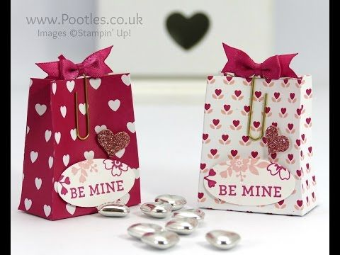 Pootles' SpringWatch Love Blossoms Treat Bag Tutorial
