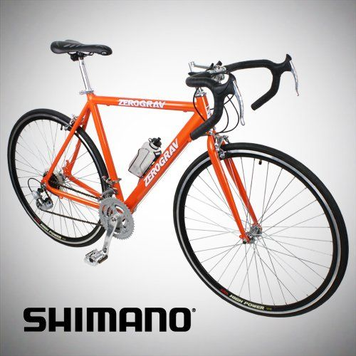 New 54cm Aluminum Road Bike Racing Bicycle 21 Speed Shimano