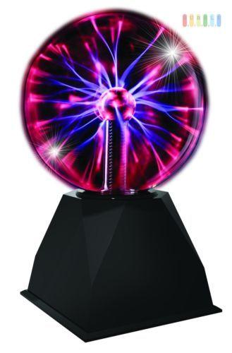 Plasmakugel Plasma Kugel Blitzkugel Lichtblitze Partylicht Partylampe Dekoration   eBay