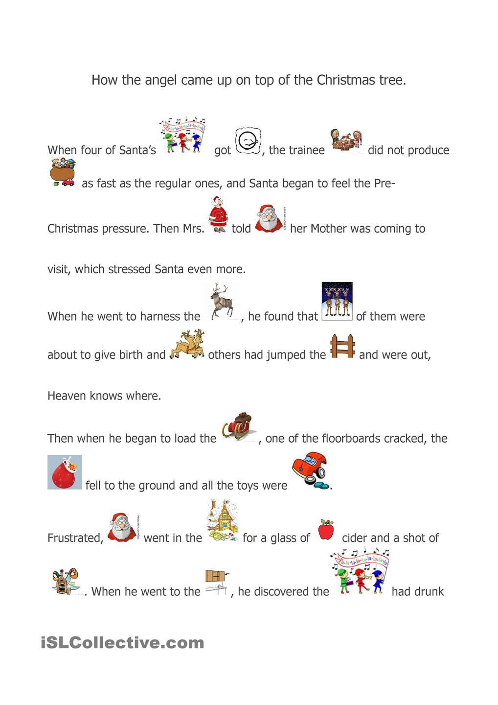 A Christmas story | Christmas Lessons | Pinterest | Worksheets ...