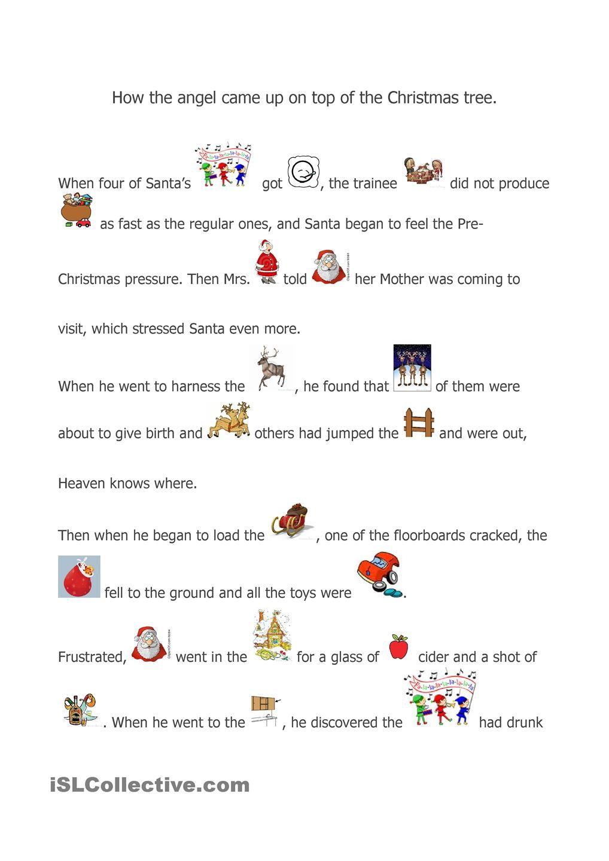 A Christmas story Esl Pinterest