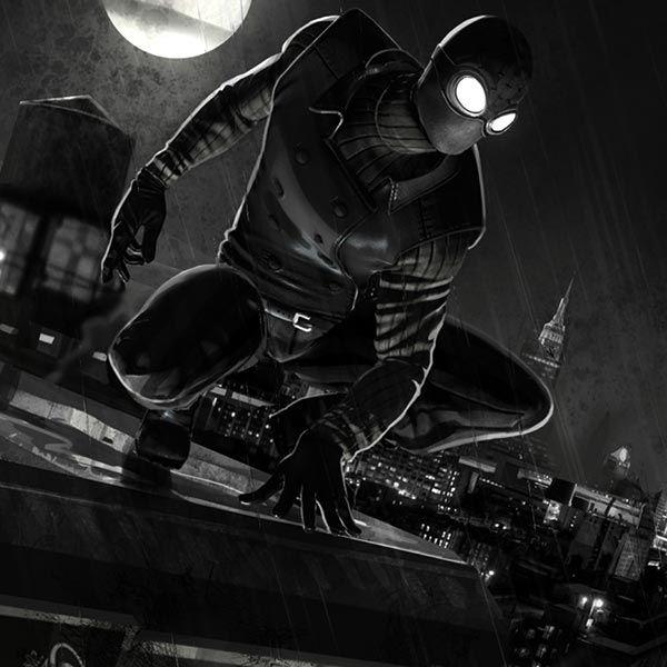 Spider Man Noir Wallpaper Engine Marvel Pinterest Spiderman