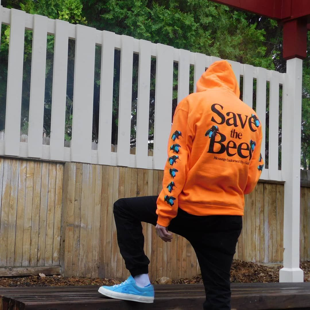 7a5ab202ce9870 Golf Wang Save The Bees Hoodie