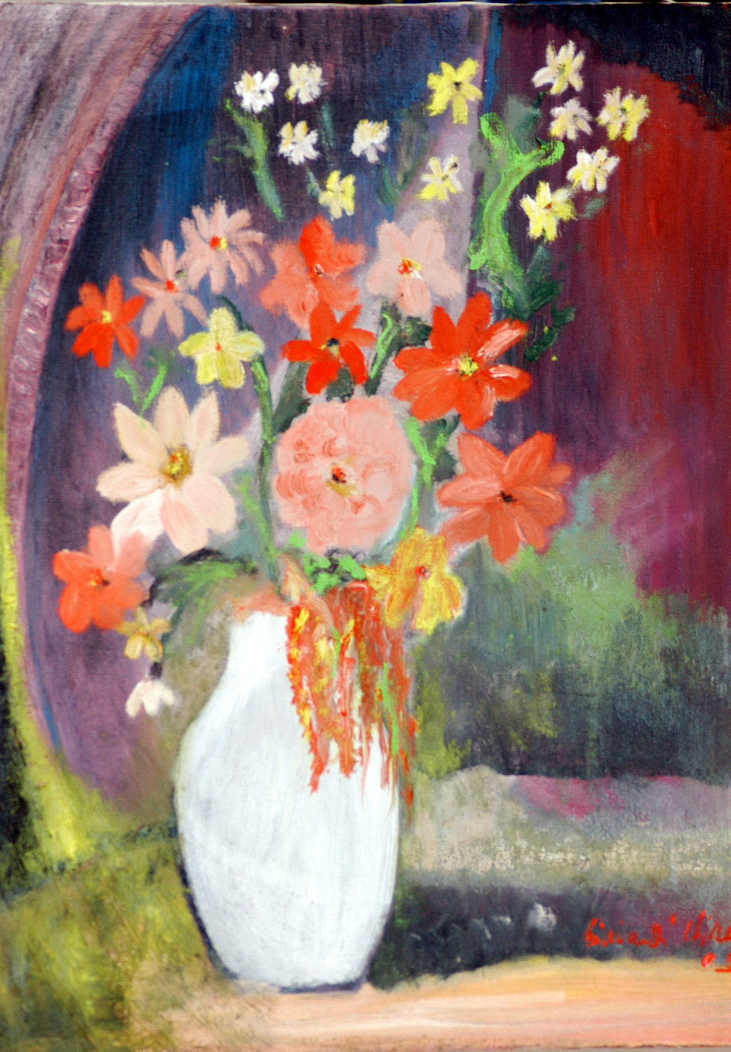 fiori ,olio