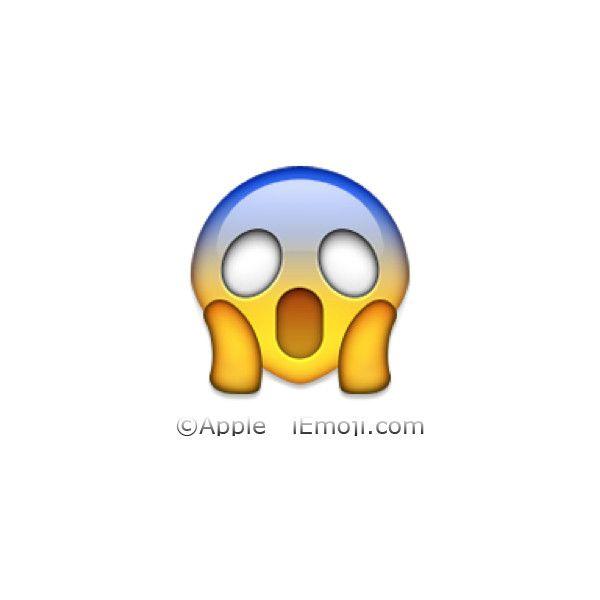 Face Screaming In Fear Cool Emoji Emoji Emoji Stickers