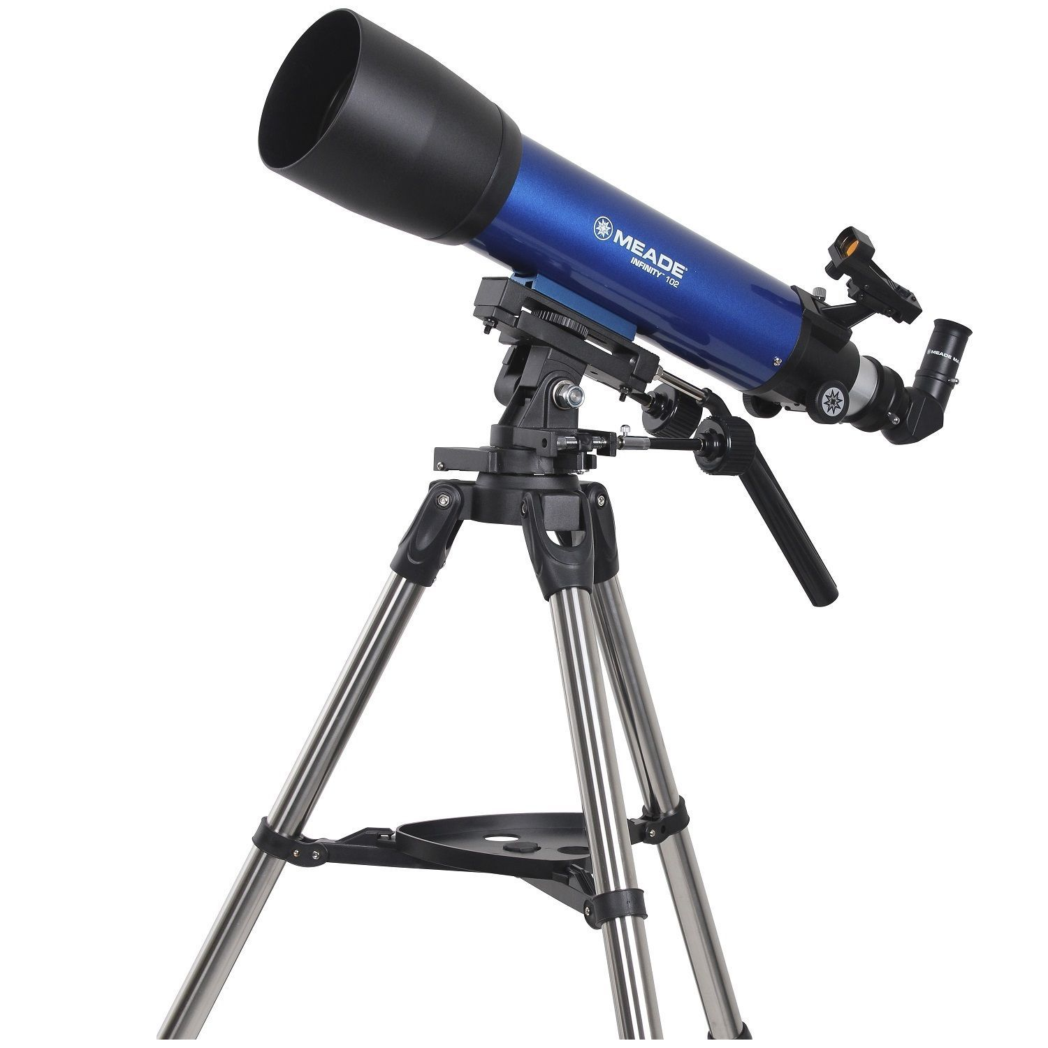 Meade Infinity 102mm Altazimuth Refractor Telescope (Blue