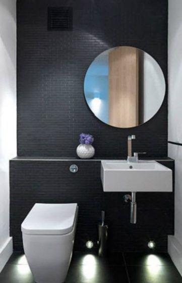Diseño de cuartos de baño, ideas para distribuir sanitarios y ...