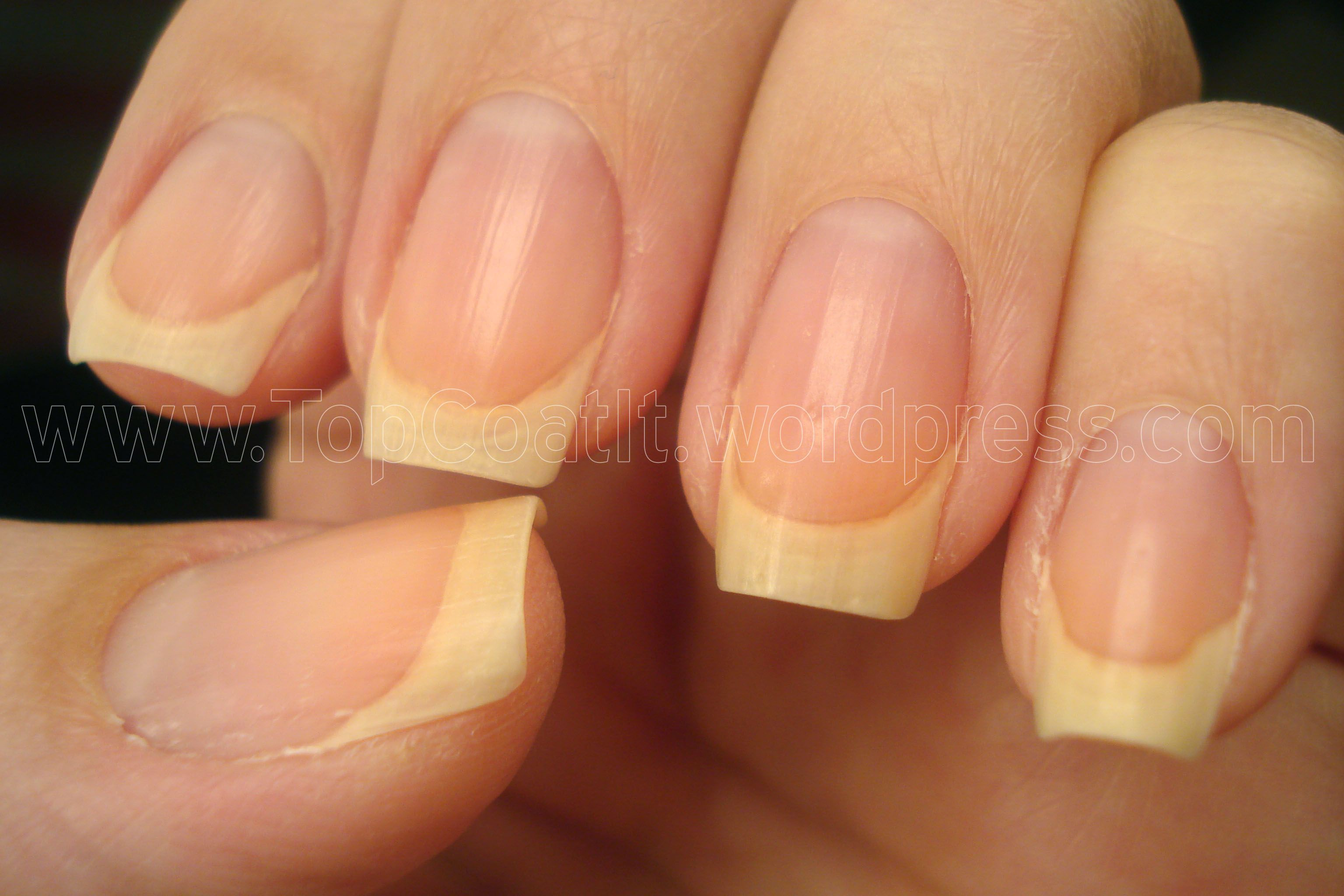 Nail care. I need to get better at moisturizing my cuticles and ...