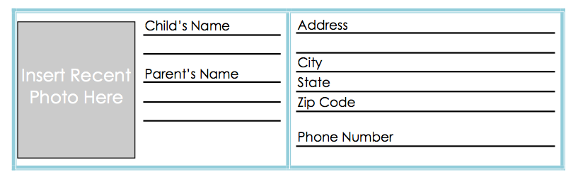 Printable Identity Cards Pertaminico - Card template free: blank id card template