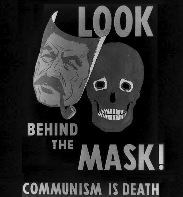 Anti Communist Propaganda Is More Awesome Than Any Horror Movie Poster Cold War Propaganda Communist Propaganda Propaganda Posters
