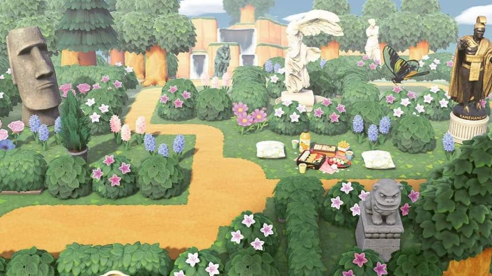 Asa Of Fjorgyn Fjorgyn S Statue Garden Animal Crossing Animal Crossing Characters Animal Crossing Memes