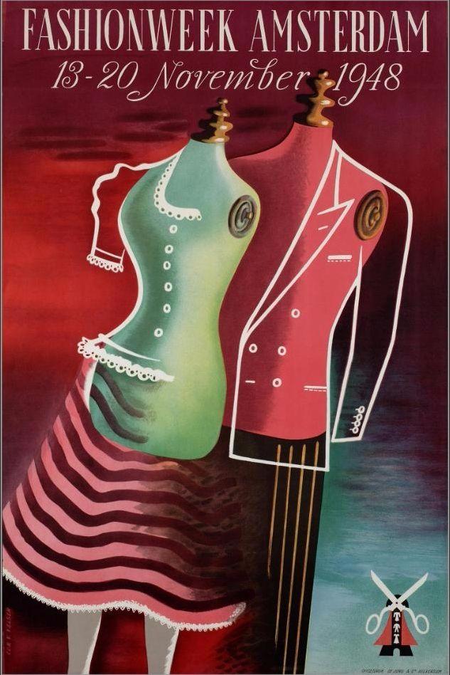 Gyazo - Fashionweek Amsterdam 13-20 november 1948 - Geheugen van Nederland - Google Chrome