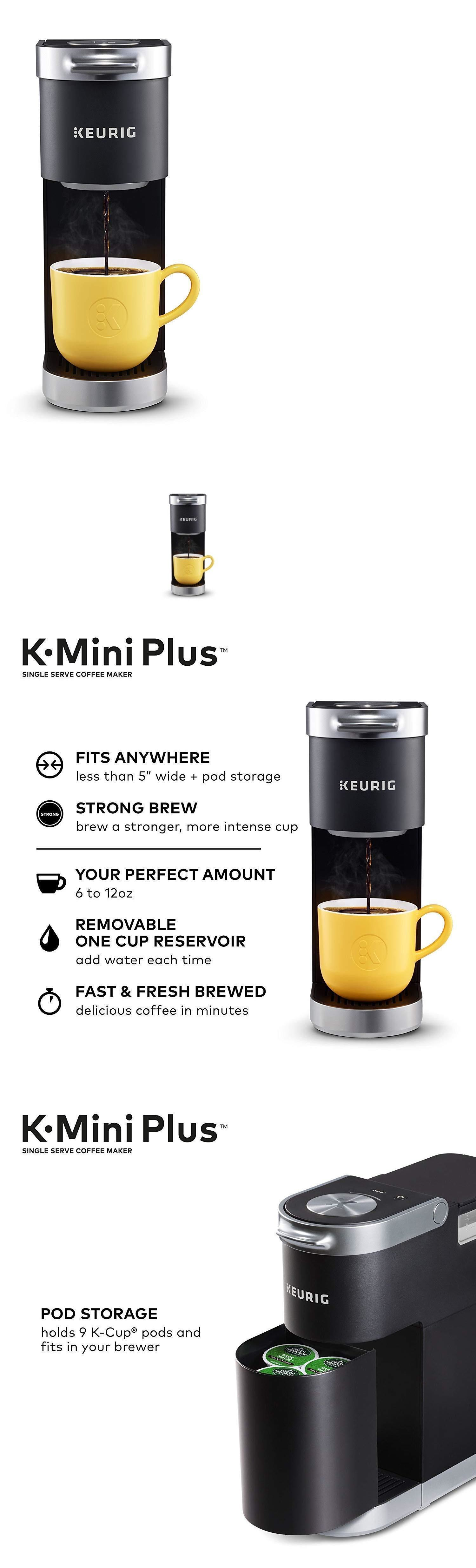 Filter Coffee Machines 184665 Keurig KMini Plus Single