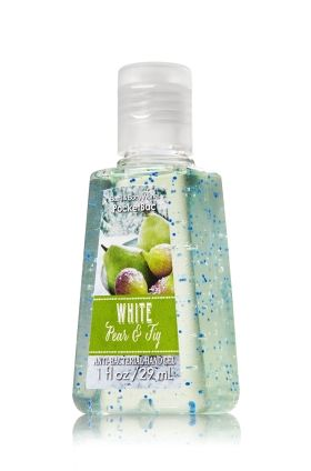 White Pear Fig Pocketbac Sanitizing Hand Gel Bath Body