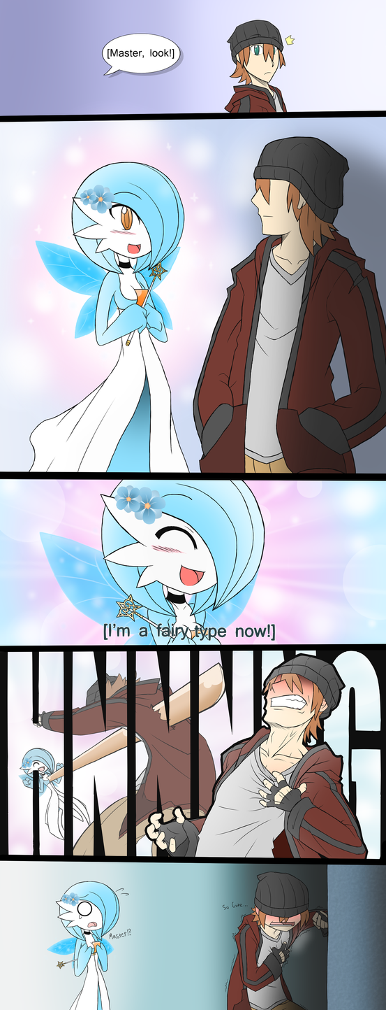 """Apparently when i wasn't looking Tajiri came up from behind and put all this stuff on my Gardevoir. Cool. I can't lie. I'm totally on board the """"Gardevoir Waifu"""" train now. It's the most humanoid p..."""