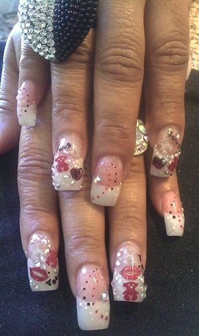 Tous nails by rosajames2001 - Nail Art Gallery nailartgallery.nailsmag.com by Nails Magazine www.nailsmag.com #nailart