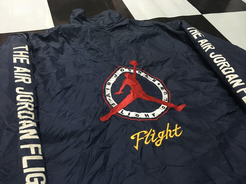 Vintage Nike Air jordan jacket windbreaker reversible
