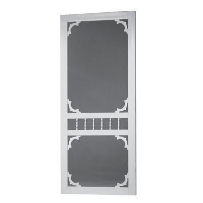 solid doors home depot. Screen Tight  Georgetown 36 in Solid Vinyl White Door at The Home Depot Tablet 32 GEO32