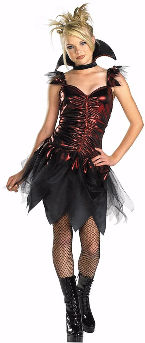 v&ire teenage costume | Glitzy V&ira Costume - Tween and Teen V&ire Costume  sc 1 st  Pinterest & vampire teenage costume | Glitzy Vampira Costume - Tween and Teen ...