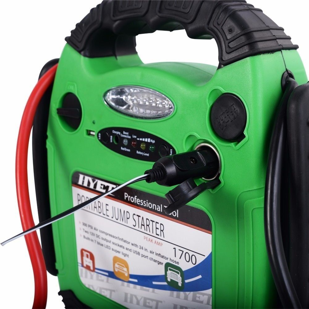 Car portable battery jump starter air