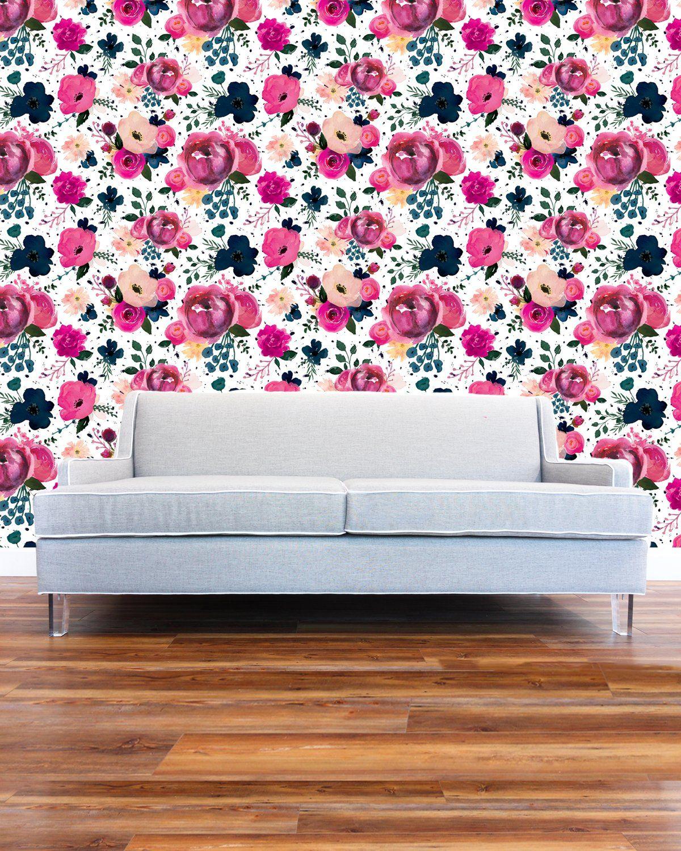 Mural Rosa Terrazzo Murals Wallpaper Girls Room Wallpaper Girls Bedroom Paint Pink Wallpaper Bedroom
